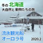 2/8 たった1日で網走を知るバスツアー「流氷砕氷船」編