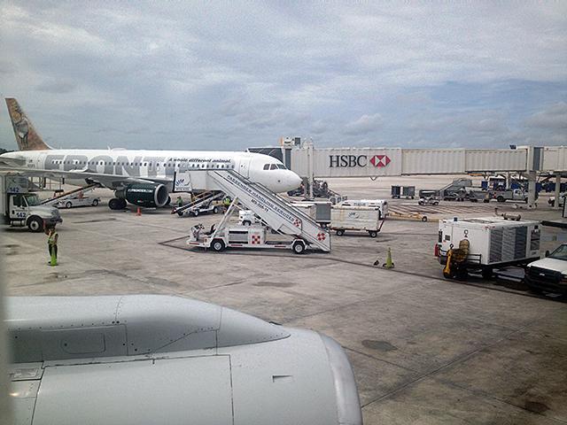 メキシコのCancun空港