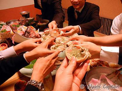 日本のかにのおいしい食べ方