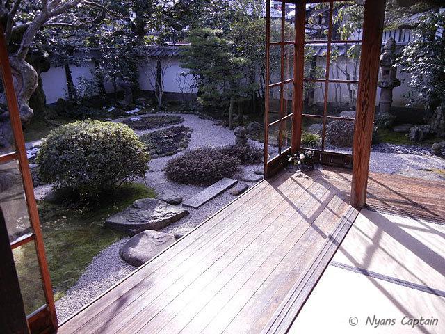 縁側のお庭